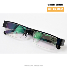 clear plain glasses cheap hidden camera with full hd for recording