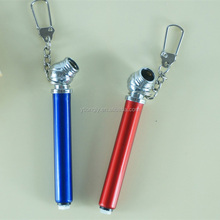 Mini pencil tire pressure gauge with keychain