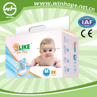 premium quality disposable sleepy baby diaper with wetness indicator