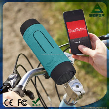 outdoor portable bicycle bluetooth speaker subwoofer with Silicone protective sleeve ensure waterproof, dustproof and shockproof