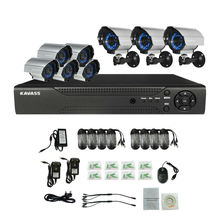 8CH DVR 800TVL home mobile security camera CCTV Camera system