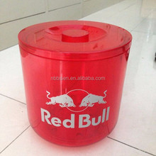 red bull boat can vodka Ice Bucket Acrylic Plastic Wine Ice buckt Champagne Barrels Acrylic Beer KTV Bar Whisky Led Ice Bucket
