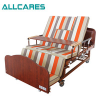 Hot sale home used multifuctional manual hospital bed prices