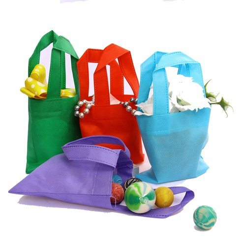 "Organic Cotton Reusable Grocery Shopping Bags Large Machine Washable 18""W x 14.25""H ( Pack of 4 )"