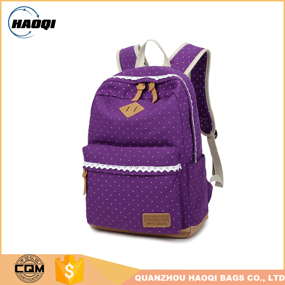 Top quality brand natural leather backpack made in China