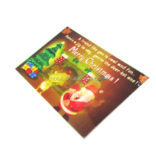 high quality 3d lenticular postcard of different printing