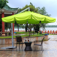 Wholesale popular luxurious aluminum hanging outdoor garden patio umbrella