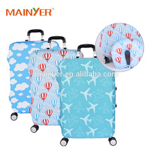 washable high elastic spandex luggage cover