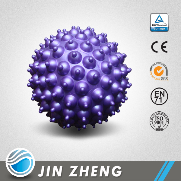 Jinzhen high quality PVC hard small massage ball
