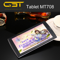 China manufacture professional for 7 inch tablet 2016 android 4.4 slim tablet pc MT708, 7 inch best low price tablet pc
