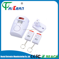 Home Security Safety PIR Wireless Door Remote Motion Sensor Detector Alarm Infrared With 2 Remote Control