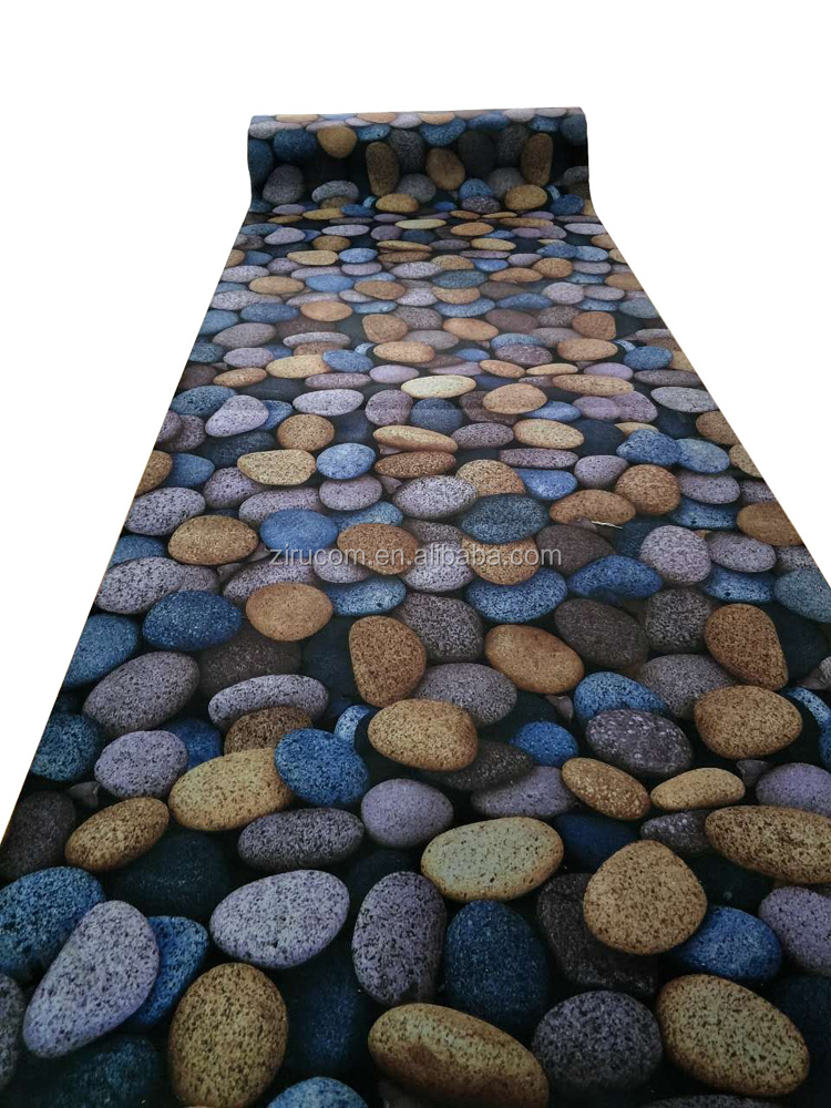 More Authentic Suede Pebbles Carpet Mat 3D Printing Door Mat Rugs And Carpet For Bathroom Living Room Bedroom Decor 3d carpet