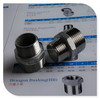 stainless steel ISO7/1 male tapered thread reducing nipple