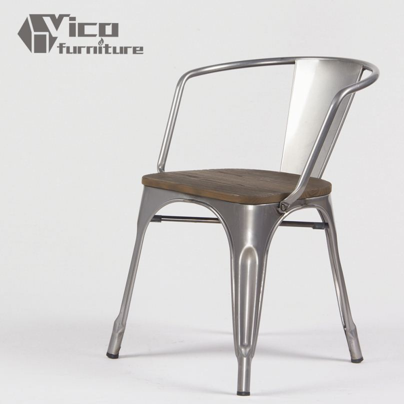 Best price popular iron steel famous design rstaurant for Famous chairs