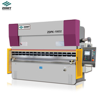 385mm max open steel CNC hydraulic press brake