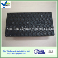 Cheap high alumina rubber ceramic liner/sheet/plate- Widely Industrial Use