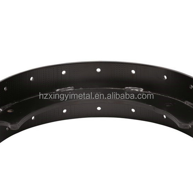 High quality heavy duty truck 1308E bare brake shoes for truck trailer