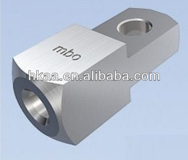 custom Electrical Equipment BALL CLEVIS FITTING of text engraved Aluminum clevis