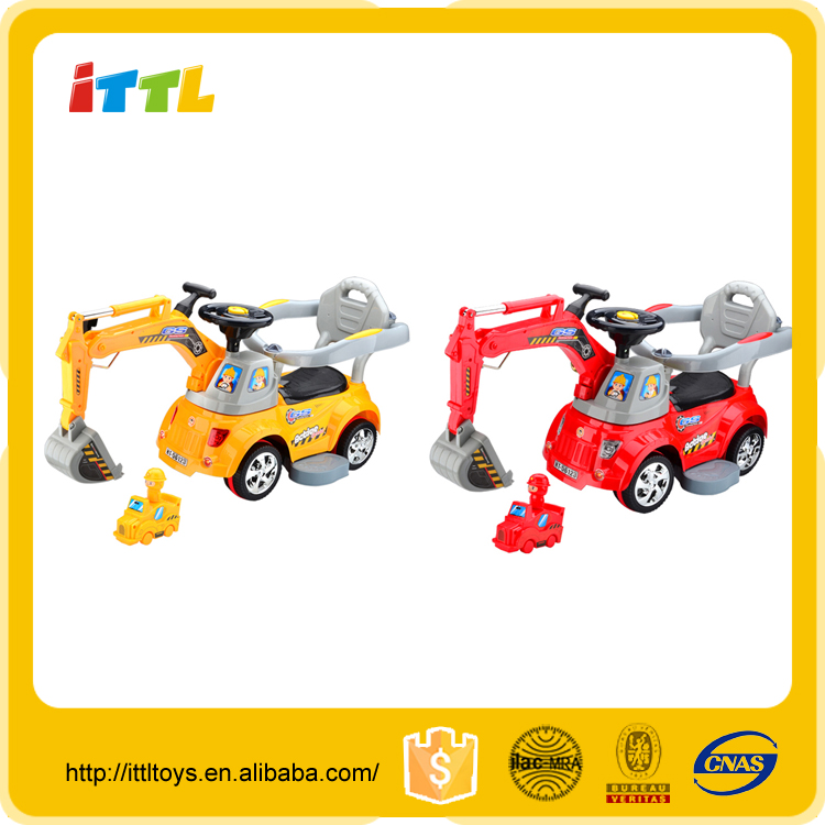 Remote control ride on truck battery operated ride on toy multi-function kids ride on car
