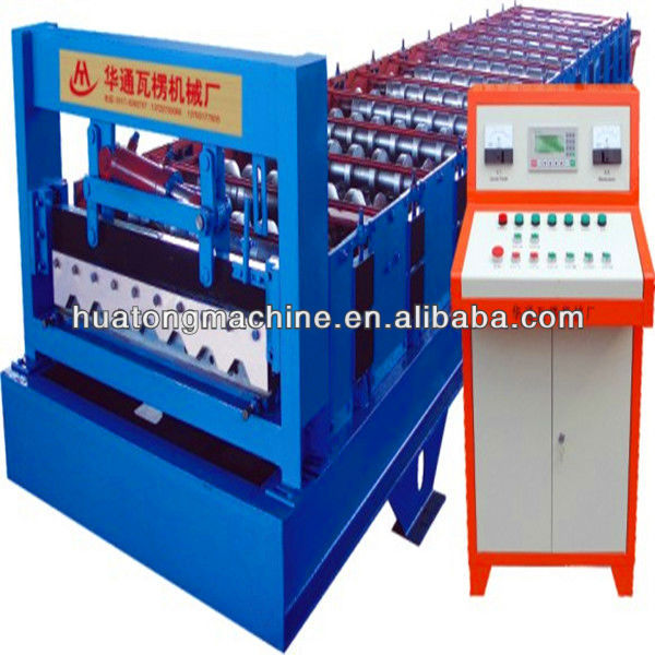 Out side and inside wall board roll forming machine