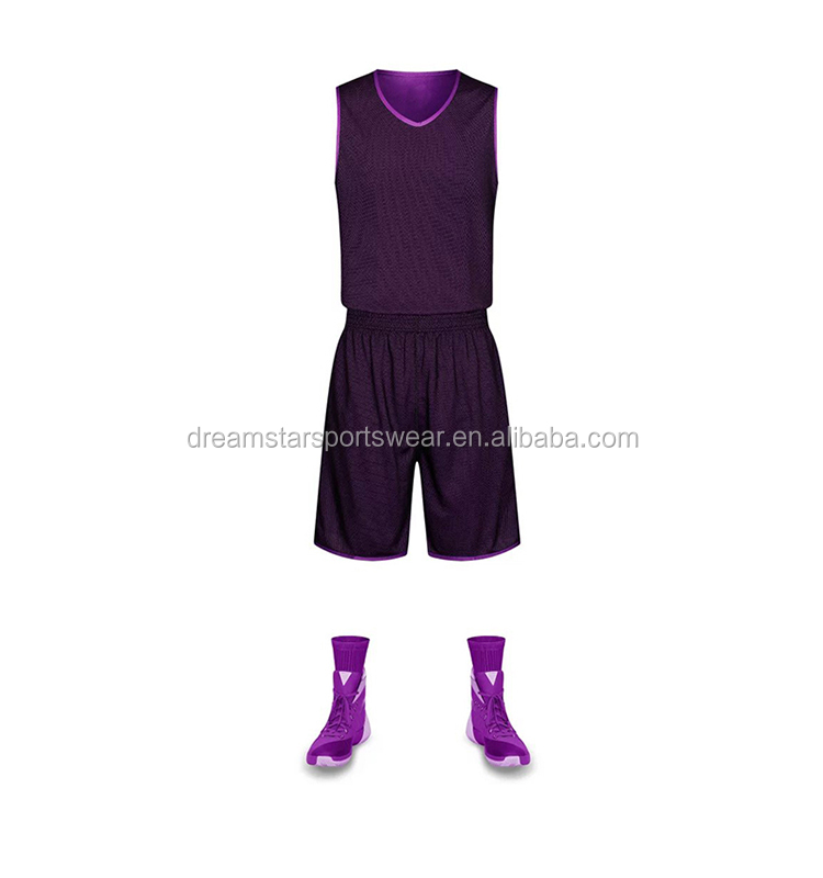 2019 Wholesale Blank Basketball Jersey In Stock