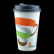22oz double PE coated cold drink paper cup