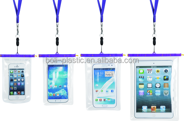 Customized cell phone protection bag waterproof bag