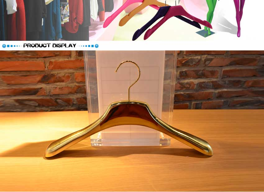 light infusion metal hook plastic cloth hanger