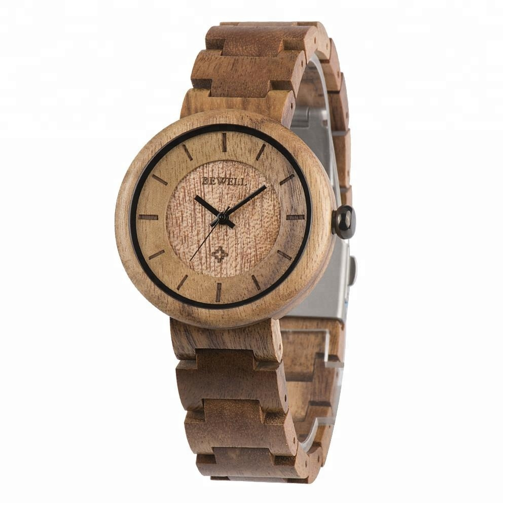 The NO.1 Shenzhen Wooden Watch factory Women wristwatch private label personalized wooden watch