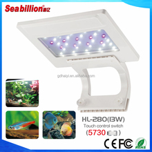 Acrylic fish tank Hight Quality acrylic tank with led clip light