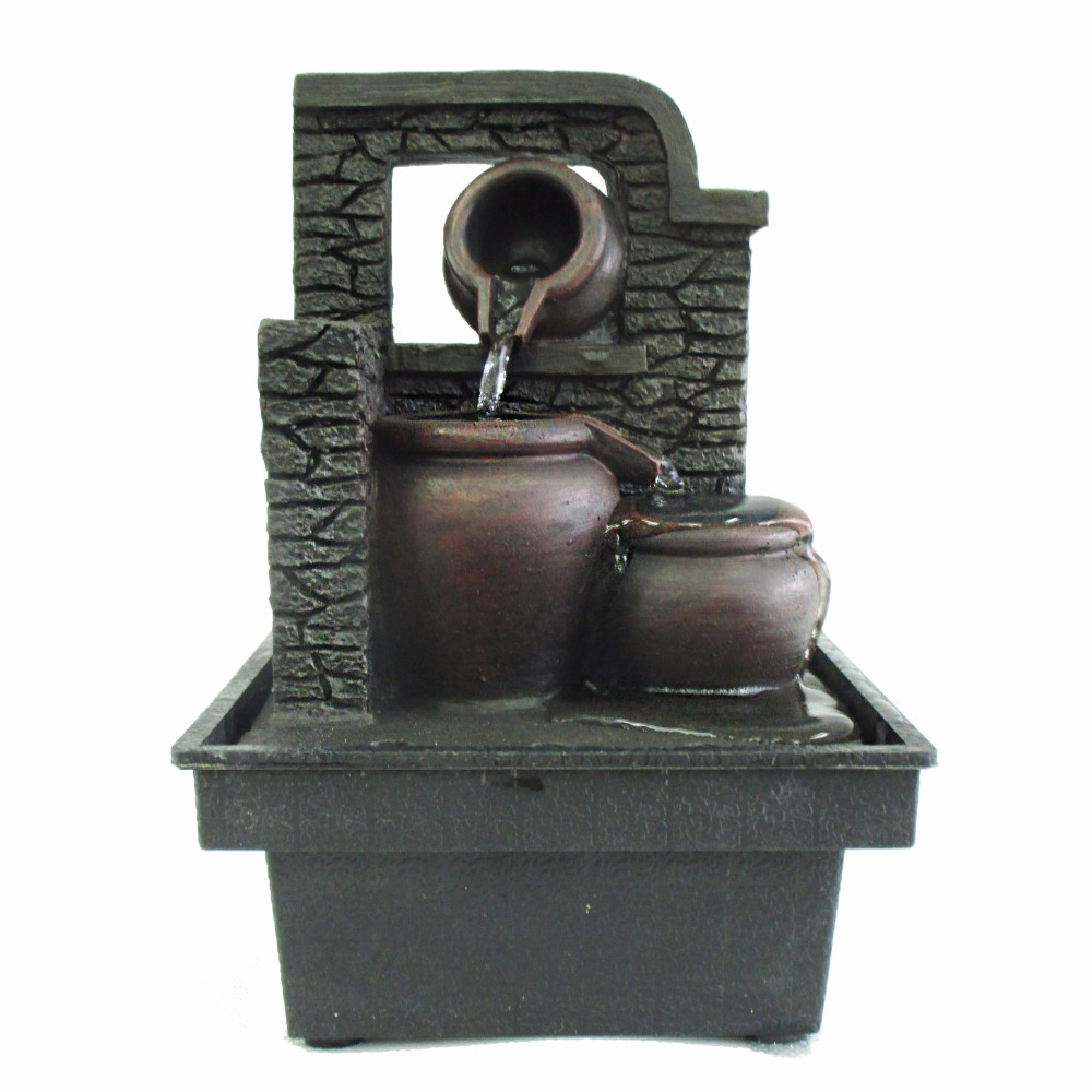 clay pots indoor cheap small decorative water fountains