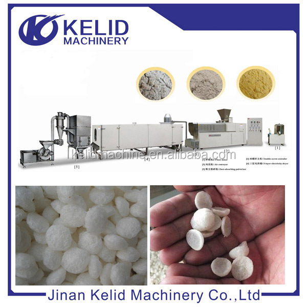 Full Automatic New Condition Modified Starch Extrusion Machine