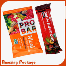 heat seal plastic candy bags/candy packaging bag/food bag