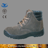 Cheap price round toe anti slip thick rubber Safety Shoes SS083