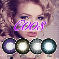 Doll eye contacts fairy contact lens with 3 tones color contact lens