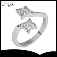 925 steriling silver open ended hug hands shaped ring for lovers and couples
