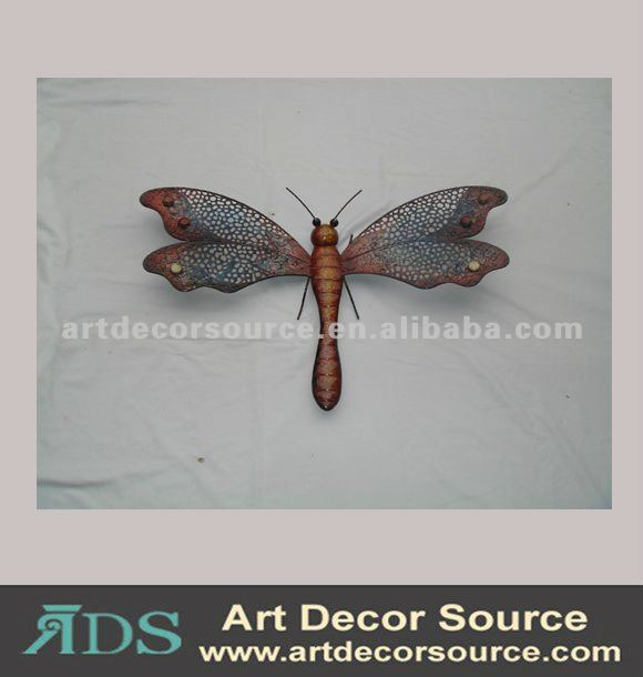 Metal dragonfly for Home Decoration