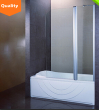 New design corner acrylic shower tray tempered glass shower cabin