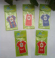 Eco-friendly Paper Air Freshener for Car or Home with T shirt design
