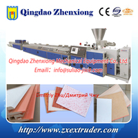 PVC Bamboo fiber wall panel production line