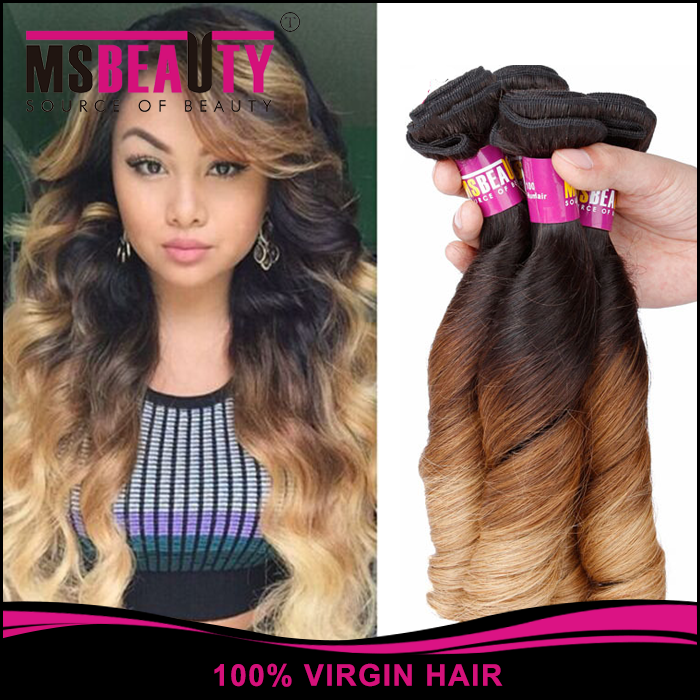Double drawn easy weft cheap price 100% bohemian curl human hair weave
