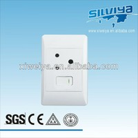 1 gang wall switch 3 pin sockets, Classical south Africa 8 gang wall switch