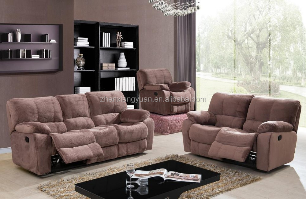 Lazy boy modern sofa set durable Electric Massage/lift/rocker fabric cheers furniture