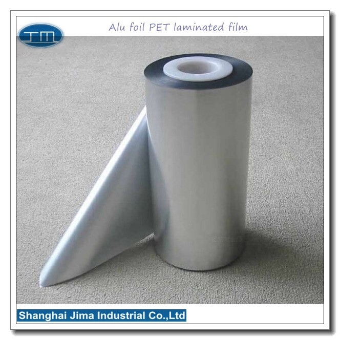 polyester aluminum laminated film for food pack