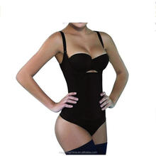 Women's Seamless Firm Control Bodysuit Adjustable Straps Body Shaper