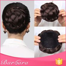 low MOQ wholesale fashionable hair bun