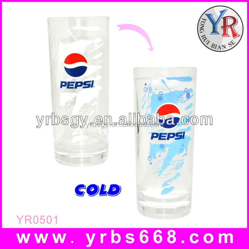 wholesale tea cups new promotional gifts glassware glass color change 1 liter glass beer mug
