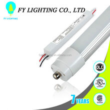 CSA UL/cUL approved high brightness8 ft led tube with single pin with 5 years warranty
