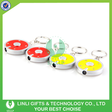 Promotion light keychain making supplies