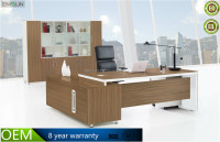 Hot sale on promotion modern round edge office desk